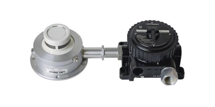 Извещатель пожарный дымовой оптико-электронный взрывозащищённый U5005